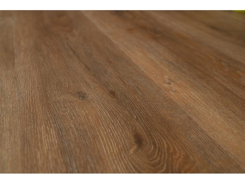 Виниловый ламинат (1218*180*5 мм) Дуб коричневый