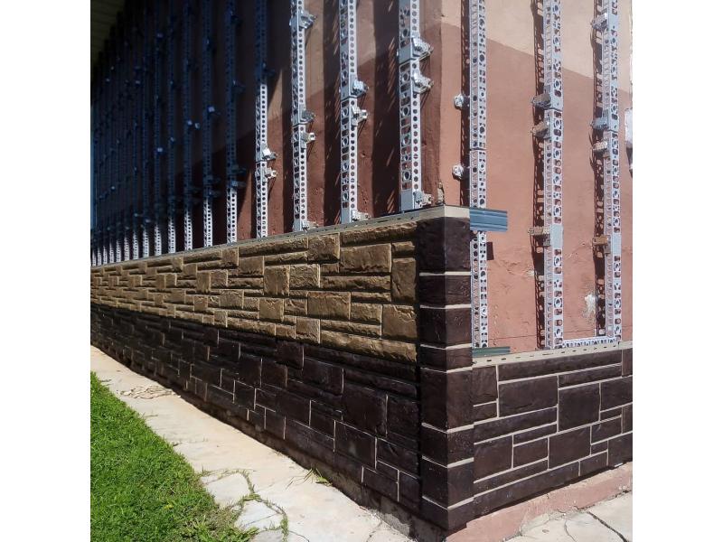 Широкий плоский профиль ТИП А (фасадные панели и вспененный сайдинг)