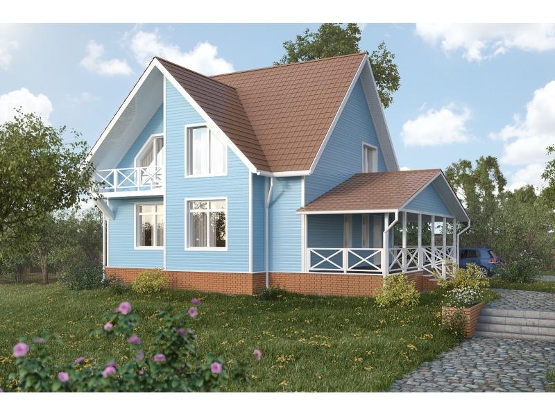 Сайдинг Виниловый, Аляска Люкс, БЛЮ Blue
