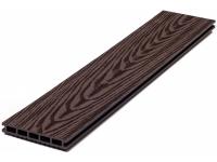 Террасная доска WOODGRAND ВЕНГЕ с ТИСНЕНИЕМ дл.3м сечение 140х20мм