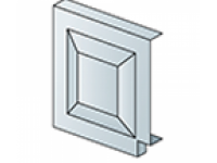 Заглушка для наличника (123х123 мм)